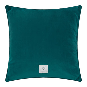 Morning Gallop Velvet Cushion - 50x50cm