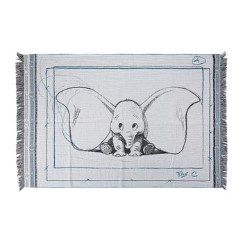 Dumbo Baby Blanket - Blue