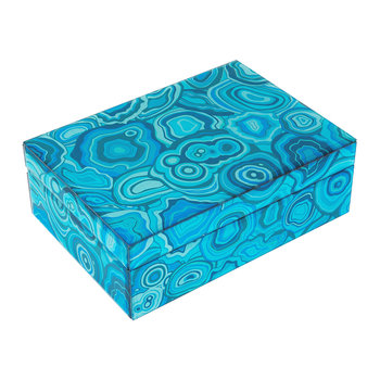 Carnival Trinket Box - Blue