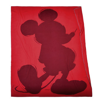 Mickey Mouse Blanket - Geranium