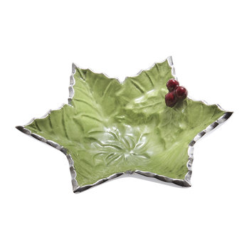 Holly Sprig Starflake Bowl - Mojito - Small