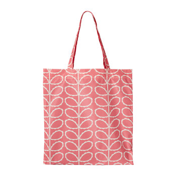 Frilly Linear Stem Packaway Bag - Pink