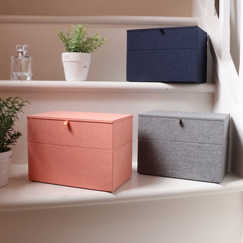 Cardigan Classic Jewelry Box - Pink