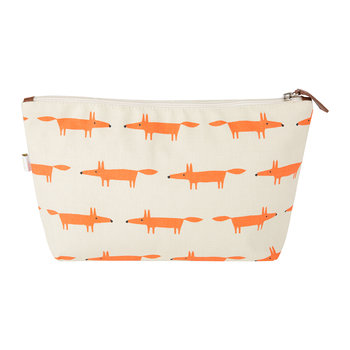 Mr Fox Cosmetic Bag