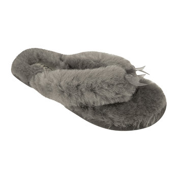 Women's Fluff Flip Flop II Slippers - Grey