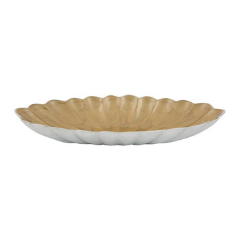 Peony Oval Bowl - Toffee
