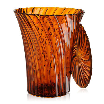 Sparkle Stool/Side Table - 44cm - Amber