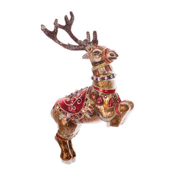 Dancer Reindeer Tree Decoration - Siam