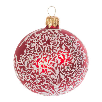 White Forest Artisan Tree Decoration - Siam