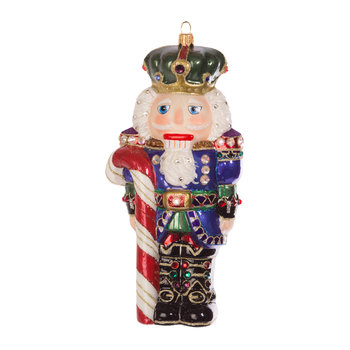 Nutcracker Tree Decoration - Jewel