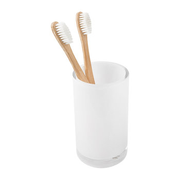 Shiny & Bright Toothbrush Holder - Snow