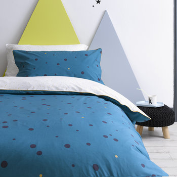 Galaxy Duvet Set - Teal