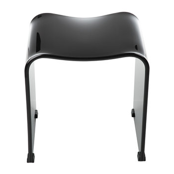 DW 80 Bathroom Stool - Acrylic Black