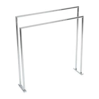 HT 5 Towel Stand - Chrome
