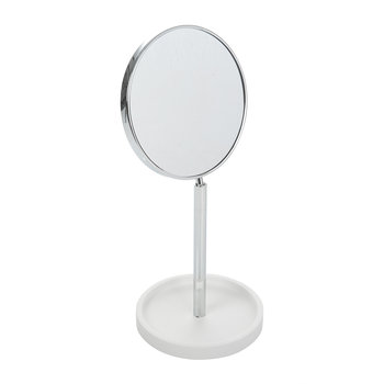 Stone KSA Cosmetic Mirror - White/Chrome