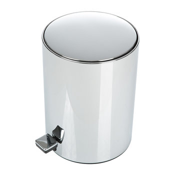 TE50 Trash Can - Chrome