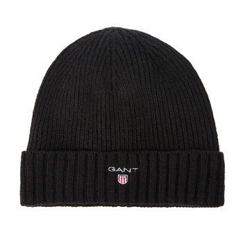 Fleece-Lined Beanie - Black