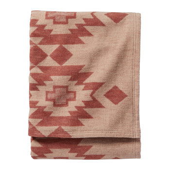 Yuma Star Jacquard Blanket - Clay