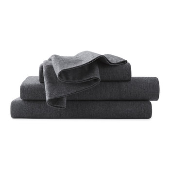 Modern Cotton Body Fitted Sheet - Charcoal