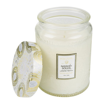 Japonica Limited Edition Glass Candle - Nissho Soleil