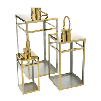 Freb Lanterns - Set of 3 - Brass