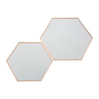 Odin Mirrors - Set of 2 - Copper
