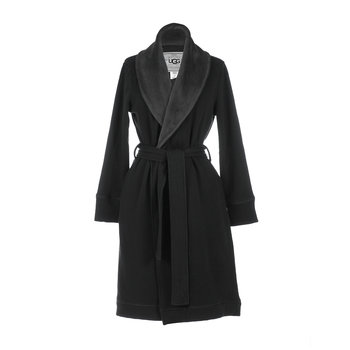 Women's Duffield Bathrobe - Charcoal