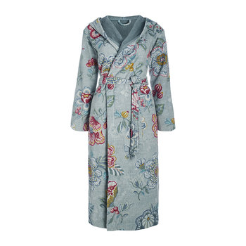 Berry Bird Bathrobe - Blue