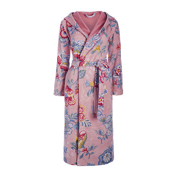 Berry Bird Bathrobe - Pink