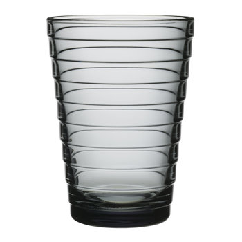 Aino Aalto Tumblers - Grey - Set of 2