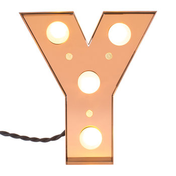 Caractere LED Lamp - Y