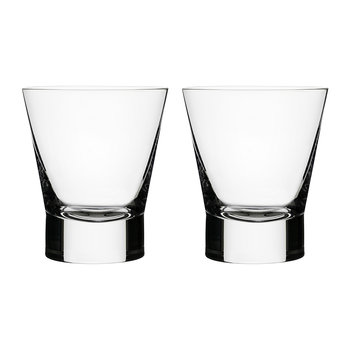 Aarne Double Old Fashioned Glass - Set of 2