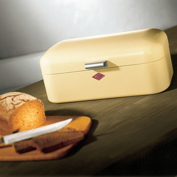 Grandy Bread Bin - Red