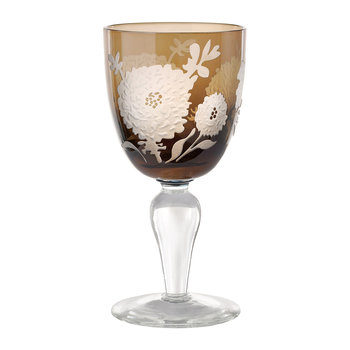 Peony Multicolour Wine Glasses - Set of 6