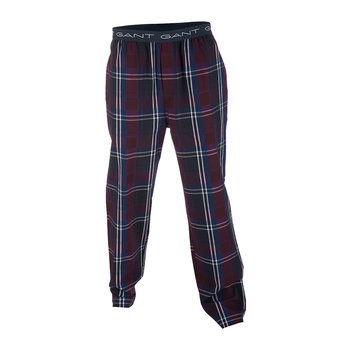 Men's Preppy Check Pyjama Bottoms - Yale Blue