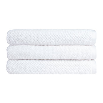 Brixton Towel - White
