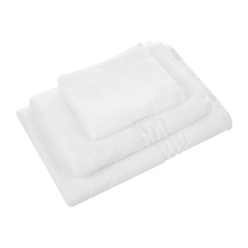 Modern Cotton Iconic White Towel