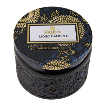 Japonica Limited Edition Glass Candle - Moso Bamboo