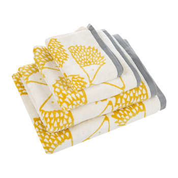 Spike Towel - Mustard