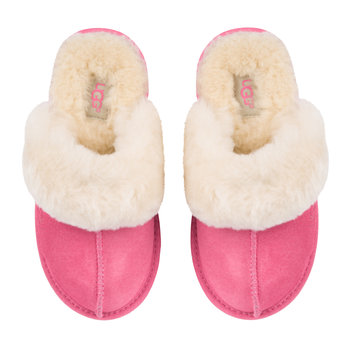 Children's Cozy II Slippers - Pink Azalea