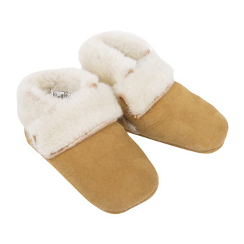 Solvi Infant Slippers - Chestnut