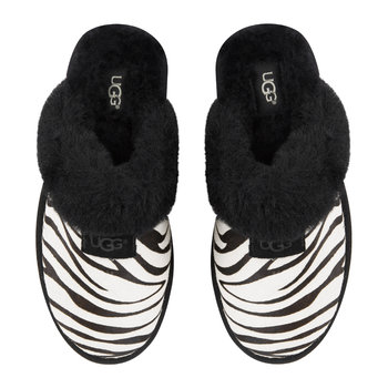 Women's Exotic Scuffette II Slippers - Zebra