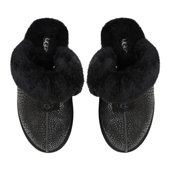 Women's Scuffette II Glitzy Slippers - Black