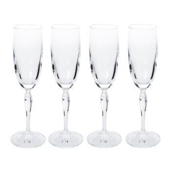 Ventura Champagne Flutes - Set of 4