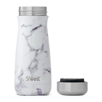 Traveller Bottle - White Marble - 0.45L