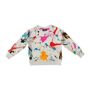 Children's Splatter Sweater