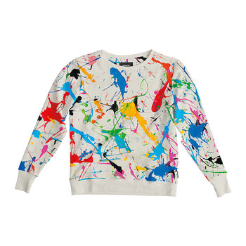 Women's Splatter Sweater