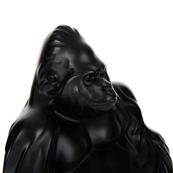 Gorilla Sculpture - Black