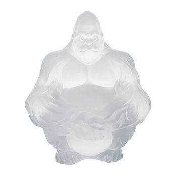 Gorilla Sculpture - Clear