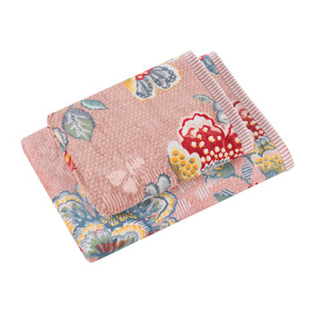 Berry Bird Towel - Pink